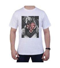 camiseta superman masculina manga curta simon vergan
