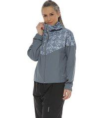 chaqueta protección con antifluido gris claro racketball
