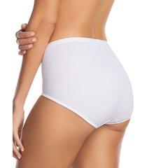 panty panty control suave blanco leonisa 72219