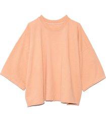 fondly sweatshirt in peach