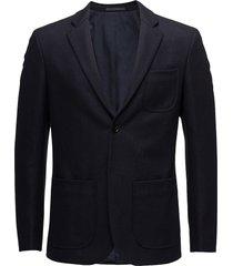 m. rick wool jacket blazer colbert blauw filippa k