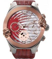 reloj gravity saturn rojo mulco