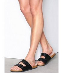 nly shoes everyday sandal tofflor svart