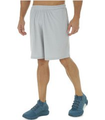 bermuda under armour tech mesh - masculina - cinza claro