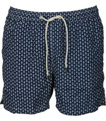 mc2 saint barth anchor tie swim shorts