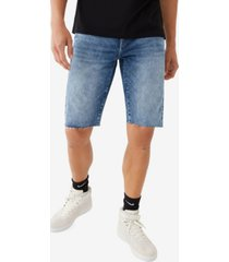men's ricky straight fit raw hem shorts