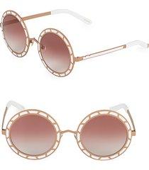 46mm round sunglasses