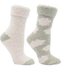 minxny women's non-skid warm soft and fuzzy slipper socks, 5 piece