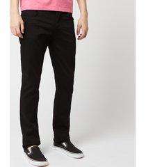 nudie jeans men's grim tim slim jeans - dry cold black - w38/l32