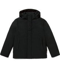 hooded stad jacket