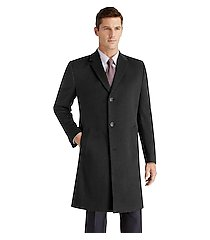 joseph a. bank tailored fit overcoat - big & tall