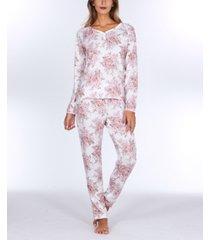 flora by flora nikrooz elie sweater knit pajama set