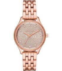 reloj fashion oro rosa michael kors