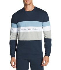 tommy hilfiger men's modern essentials colorblocked sweatshirt