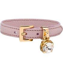 miu miu madras bracelet - pink