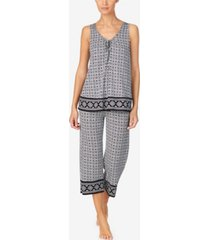 ellen tracy women's sleeveless pajama set