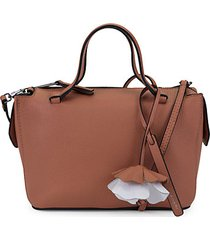 small kyla leather satchel bag