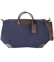 "longchamp designer men's bags, ""boxford"" travel bag"