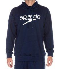buzo hoodie classic logo masculino