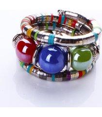monili dell'annata delle donne dei braccialetti delle donne a più strati della boemia variopinti a più strati per le donne