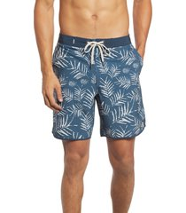 men's vuori cruise hybrid board shorts, size 28 - blue