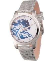 disney frozen 2 elsa women's silver alloy watch 38mm