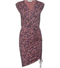 dress ss kort klänning rosa rosemunde
