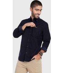 camisa azul oscuro  calvin klein