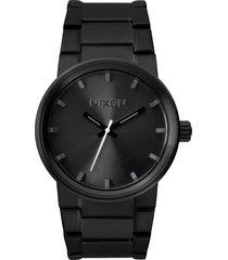 nixon cannon bracelet watch, 39.5mm