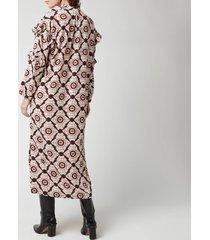 baum und pferdgarten women's ahadi dress - red propella - eu 38/uk 10