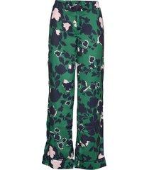 franca pants wijde broek groen by malina