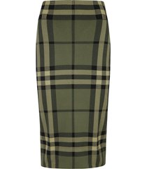 burberry kammie check skirt