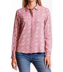 camisa floral mix