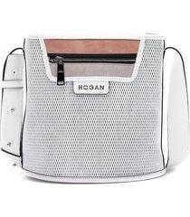 hogan bucket bag white