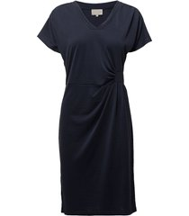 dyveke dress korte jurk blauw minus