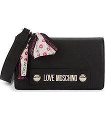 borsa mini faux leather crossbody bag
