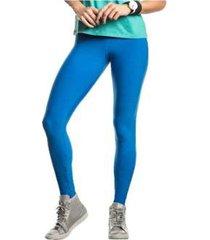 calça legging fuso live azul bic