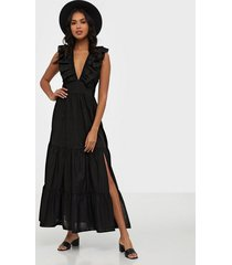 glamorous v neck maxi printed dress maxiklänningar