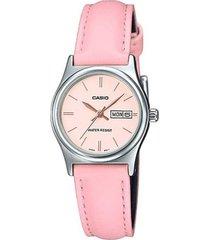 reloj casio modelo ltpv006l-4budf rosa hombre