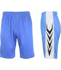 galaxy by harvic men's moisture-wicking active mesh performance shorts