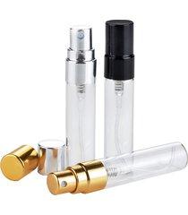 5 ml vuoto di vetro bottiglia di profumo ricaricabile alluminio atomizzatore custodia protettiva