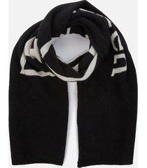 polo ralph lauren men's vintage polo scarf - black/cream