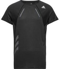 heat.rdy tee m t-shirts short-sleeved svart adidas performance