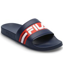 oceano slipper shoes summer shoes pool sliders blå fila