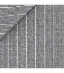 pantaloni da uomo su misura, reda, natural stretch grigi gessati, primavera estate | lanieri