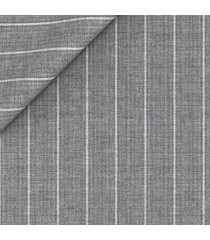 pantaloni da uomo su misura, reda, natural stretch grigi gessati, primavera estate