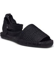natural sandaletter expadrilles låga svart mango