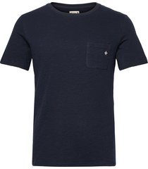 lily tee t-shirts short-sleeved blå morris