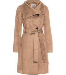 cappotto corto con cintura (marrone) - bodyflirt
