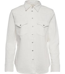 de-ringy shirt långärmad skjorta vit diesel women